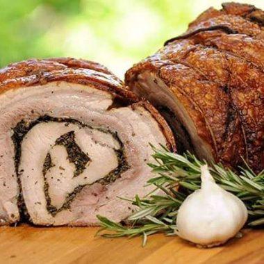 Porchetta abruzzese carne abruzzese