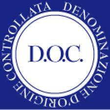 Logo Vini a Denominazione di Origine Controllata (DOC) - TOP FOOD ITALY - Visibilità a prodotti e produttori