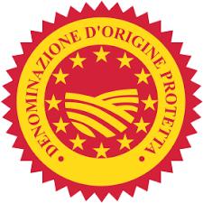 Logo Denominazione di Origine Protetta (DOP) - TOP FOOD ITALY - Visibilità a prodotti e Produttori