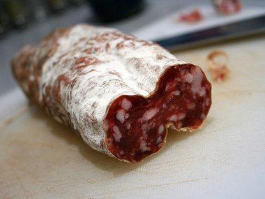 Salame aquila carne abruzzese