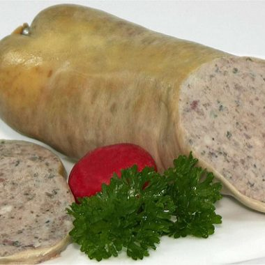 Salsiccia di fegato carne abruzzese