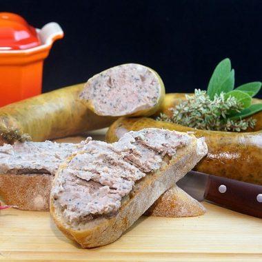 Salsiccia di fegato di Castelluccio Superiore carne abruzzese